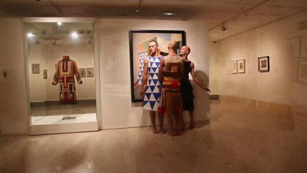 Espectáculo de danza inspirado en las obras de Sonia Delaunay