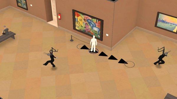 El museo, instrucciones de juego
