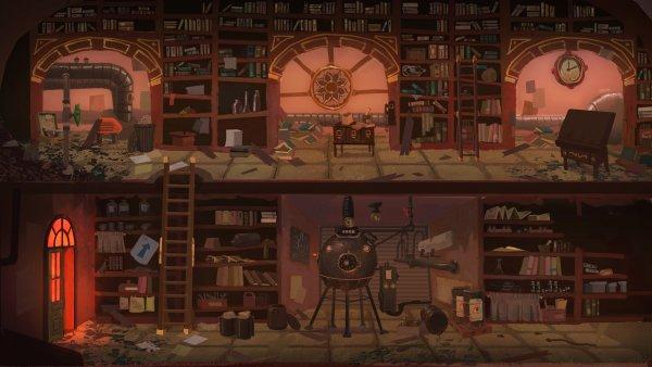 La biblioteca 'imposible' de Nubla
