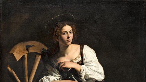 Santa Catalina de Alejandría. Caravaggio