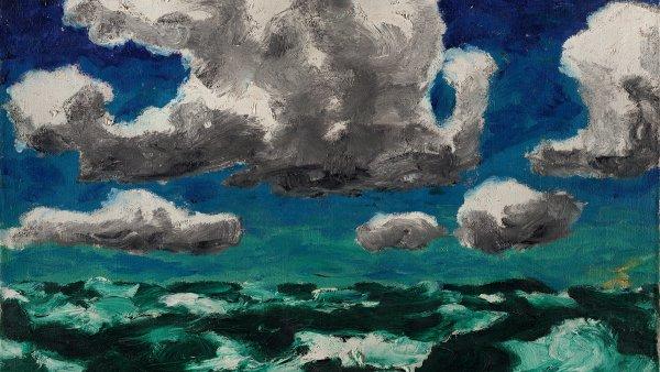 Agua en las nubes y agua en el mar