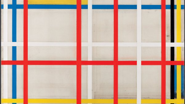 New York City, 3 (inacabado). Piet Mondrian