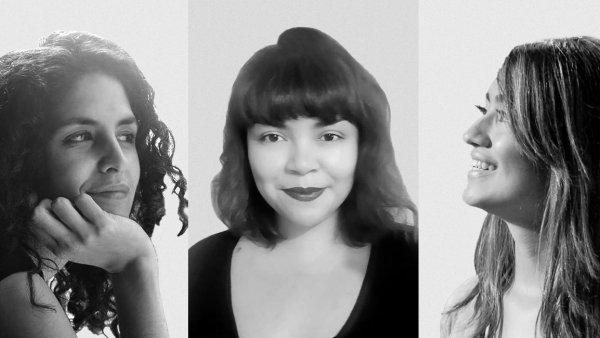 Conversación de Agustina Barbosa, Catalina Martínez y Katherine León con Luz Carvajal