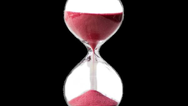 ¡Tiempo al tiempo! Reloj de arena