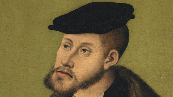 Retrato del emperador Carlos V. Lucas el Viejo Cranach