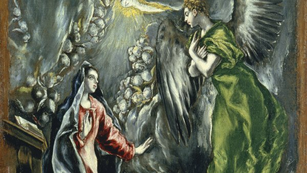 La Anunciación. El (Doménikos Theotokópoulos) Greco