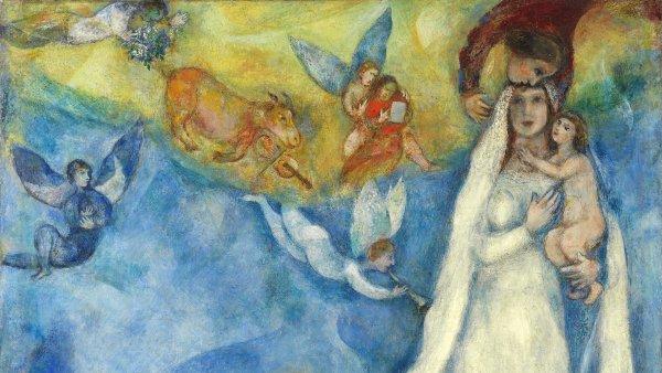 La Virgen de la aldea. Marc (Moses Shagal) Chagall