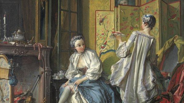 La toilette. François Boucher