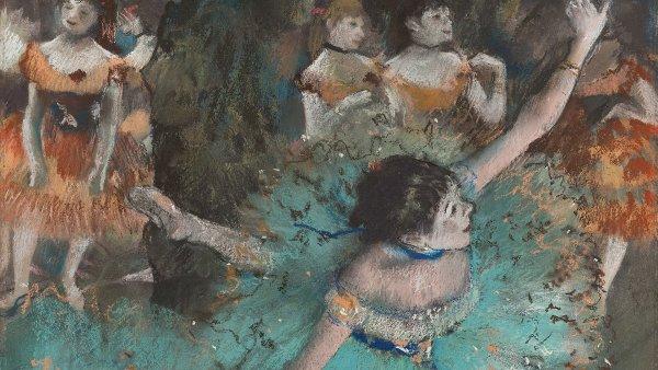 Técnicas artísticas: Edgar Degas