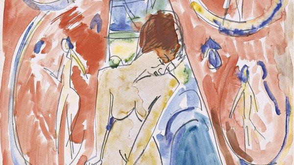 Ante la cortina roja. Erich Heckel