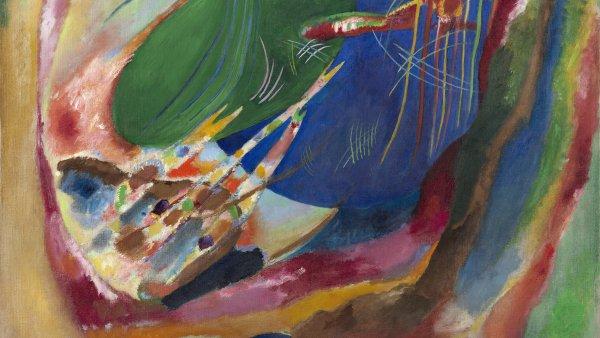 Pintura con tres manchas, n.º 196. Wassily Kandinsky