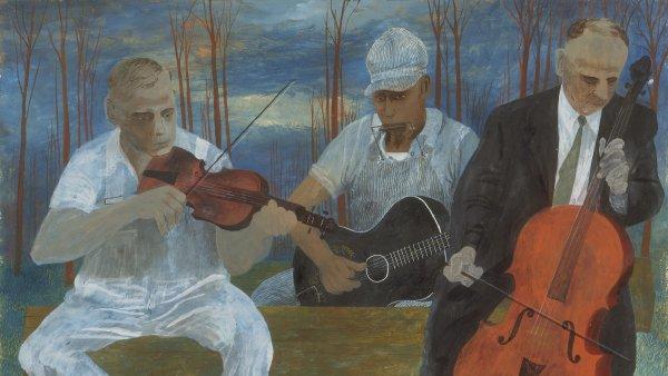 Orquesta de cuatro instrumentos. Ben Shahn