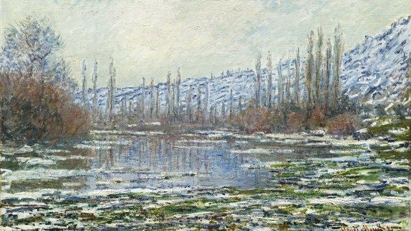 El deshielo en Vétheuil. Claude Monet
