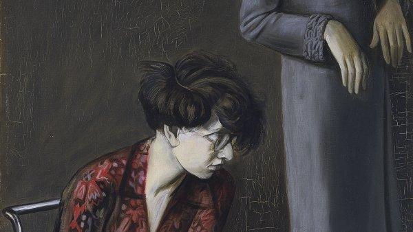 Doble retrato de Hilde II y el conflicto con la personalidad, por Violeta Salem