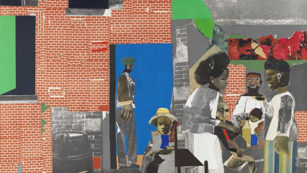 Domingo después del sermón. Romare Bearden