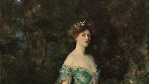 Retrato de Millicent, duquesa de Sutherland. John Singer Sargent