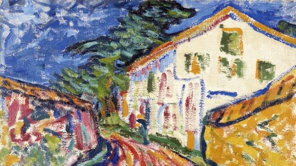 Casa en Dangast (La casa blanca). Erich Heckel