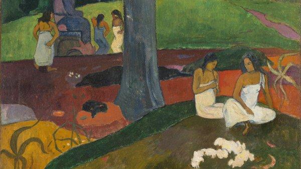Mata Mua (Erase una vez). Paul Gauguin