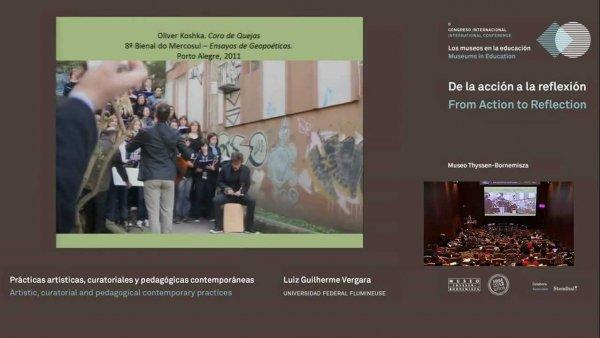 Prácticas artísticas, curatoriales y pedagógicas contemporáneas
