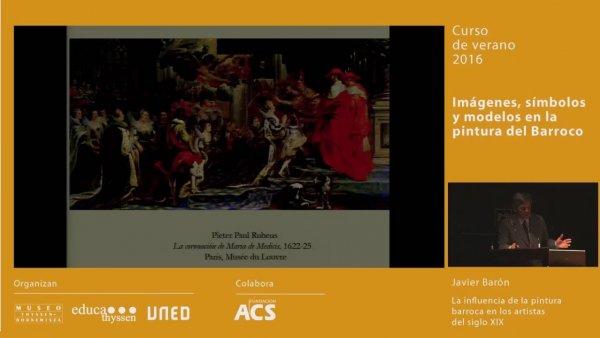 La influencia del barroco en la pintura del siglo XIX / Conferencia de Javier Barón