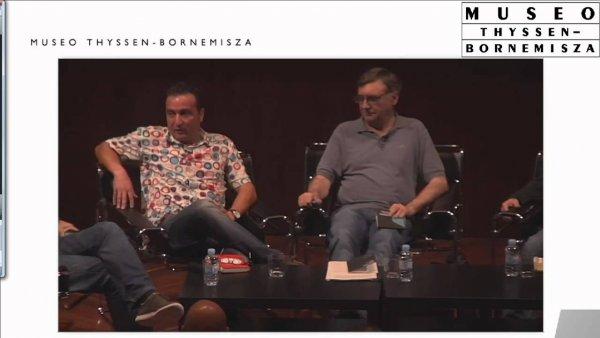 Mesa redonda moderada por José Enrique Monterde