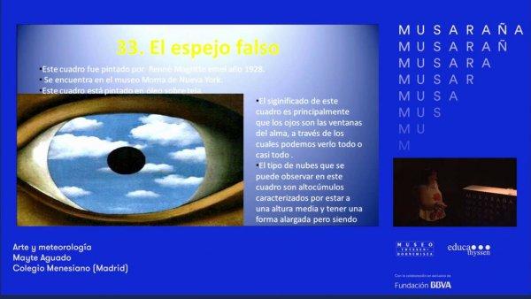 Musaraña / Mayte Aguado: Arte y meteorología