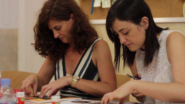 'Habitamos cuadros' con Paula Cabaleiro y Paula Noya