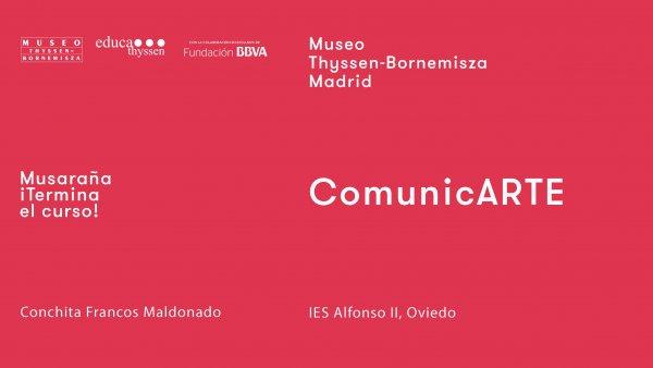 Musaraña / ¡Terminan las clases! / Conchita Francos Maldonado: ComunicARTE