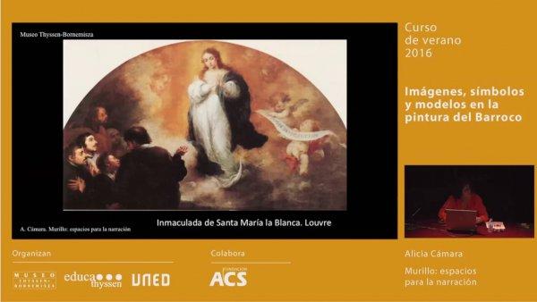 Murillo: espacios para la narración / Conferencia de Alicia Cámara